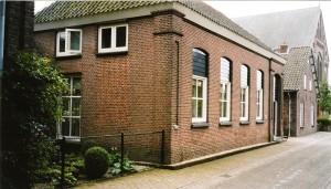 De voormalige lagere school van Huisseling